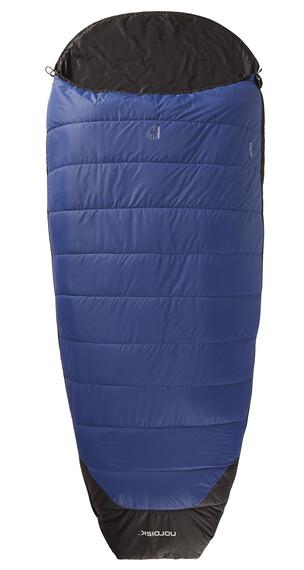 Nordisk Gorm +10° Slaapzak XL blauw/zwart